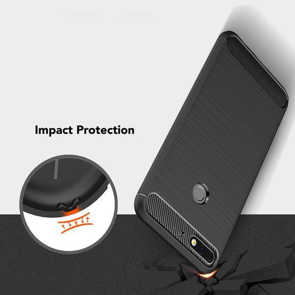 NALIA Handyhülle kompatibel mit Huawei Y7 (2018), Ultra-Slim Hülle Soft Silikon Case, Dünne Crystal Phone Schutzhülle, Handy-Tasche Back-Cover TPU Bumper Schutz Smartphone Etui – Bild 4