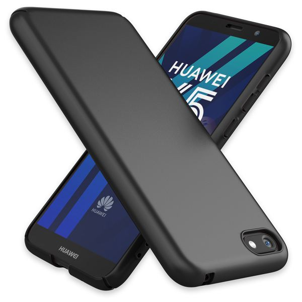 NALIA Handyhülle kompatibel mit Huawei Y5 (2018), Dünne Hard-Case Hülle Schutzhülle Matt, Ultra-Slim Cover Etui leichte Handy-Tasche, Smart-Phone Backcover Skin Bumper – Bild 2