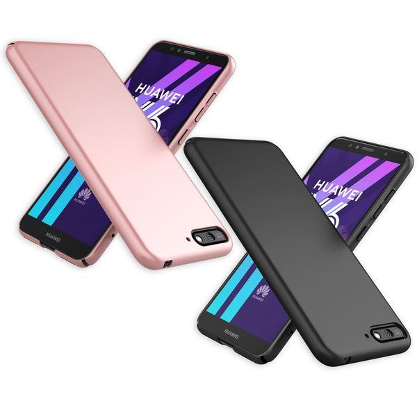 NALIA Handyhülle kompatibel mit Huawei Y6 (2018), Dünne Hard-Case Hülle Schutzhülle Matt, Ultra-Slim Cover Etui leichte Handy-Tasche, Smart-Phone Backcover Skin Bumper – Bild 1