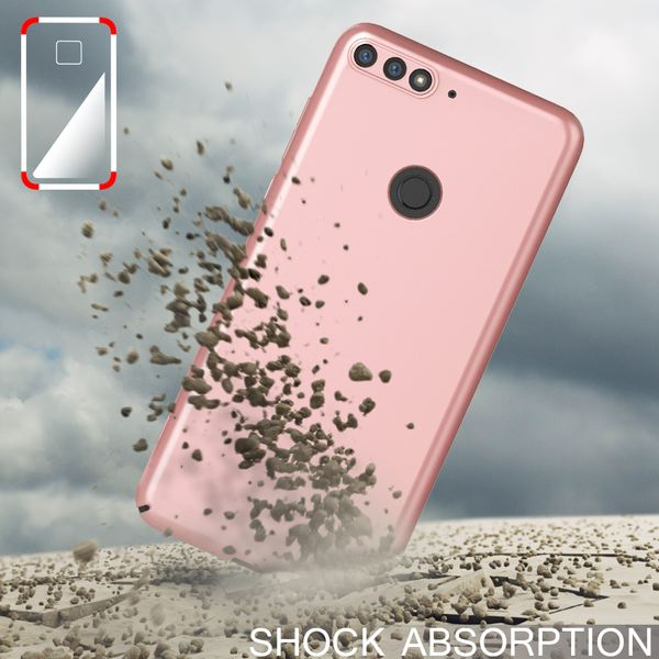 NALIA Handyhülle kompatibel mit Huawei Y7 (2018), Dünne Hard-Case Hülle Schutzhülle Matt, Ultra-Slim Cover Etui leichte Handy-Tasche, Smart-Phone Backcover Skin Bumper – Bild 15