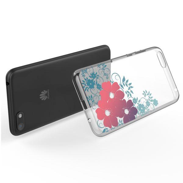 NALIA Hülle kompatibel mit Huawei Y5 (2018), Slim Handyhülle Silikon Motiv Case Cover Crystal Schutzhülle Dünn Durchsichtig, Handy-Tasche Backcover Transparent Phone Bumper – Bild 17