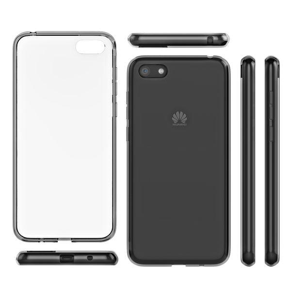 NALIA Hülle kompatibel mit Huawei Y5 (2018), Slim Handyhülle Silikon Motiv Case Cover Crystal Schutzhülle Dünn Durchsichtig, Handy-Tasche Backcover Transparent Phone Bumper – Bild 7