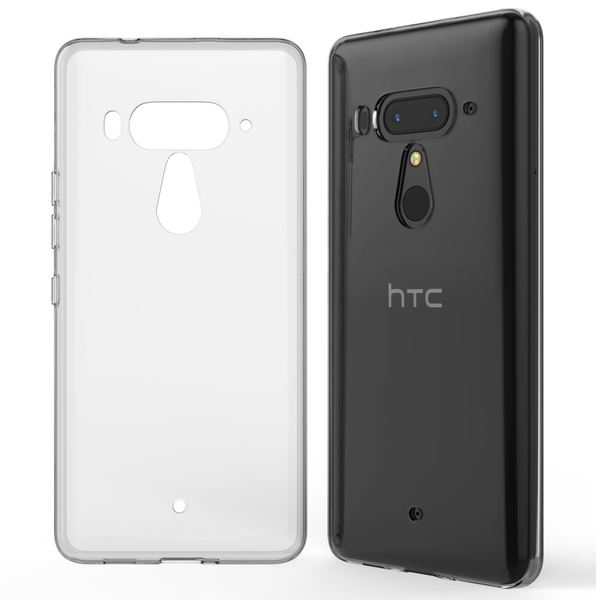 NALIA Handyhülle kompatibel mit HTC U12 Plus, Hülle Ultra-Slim TPU Silikon Gel Case Cover Crystal Clear, Dünne Durchsichtige Etui Handy-Taschen Schutzhülle, Transparent Phone Backcover Bumper – Bild 6