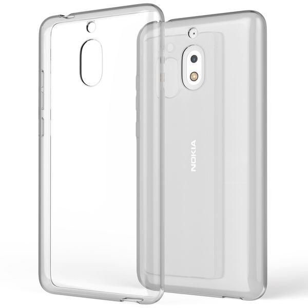 NALIA Handyhülle kompatibel mit Nokia 2.1 2018, Hülle TPU Silikon Soft Case Cover Crystal Clear, Dünne Leichte Durchsichtige Etui Handy-Taschen Schutzhülle, Transparent Phone Back-Cover Bumper – Bild 1