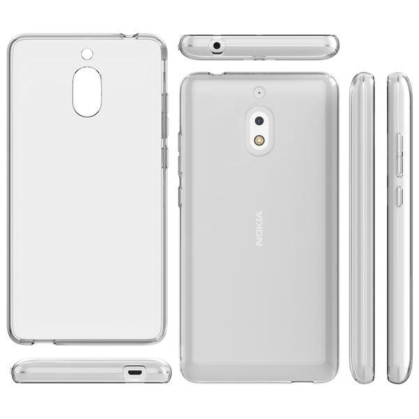 NALIA Handyhülle kompatibel mit Nokia 2.1 2018, Hülle TPU Silikon Soft Case Cover Crystal Clear, Dünne Leichte Durchsichtige Etui Handy-Taschen Schutzhülle, Transparent Phone Back-Cover Bumper – Bild 6