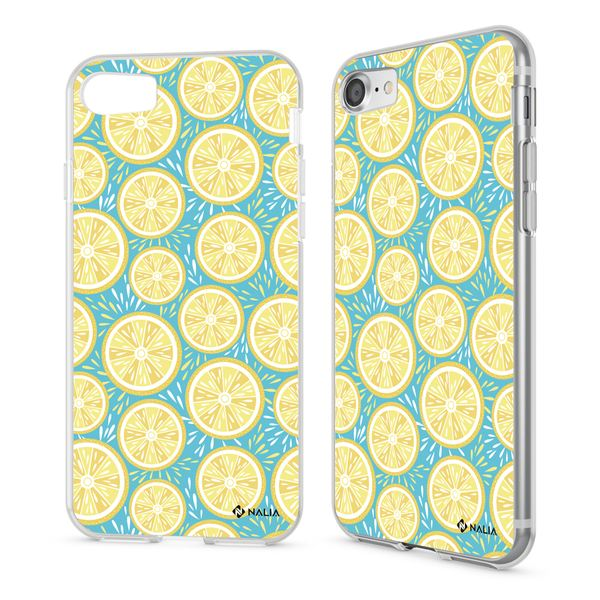 NALIA Handyhülle kompatibel mit iPhone 8 / 7, Ultra-Slim Silikon Hülle Motiv Case Cover Crystal Schutzhülle, Etui Handy-Tasche Backcover Transparent Bumper – Bild 17