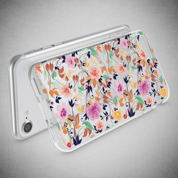 NALIA Handyhülle kompatibel mit iPhone 8 / 7, Ultra-Slim Silikon Hülle Motiv Case Cover Crystal Schutzhülle, Etui Handy-Tasche Backcover Transparent Bumper – Bild 3