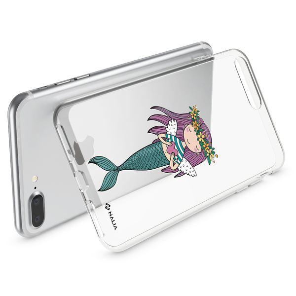 NALIA Handyhülle kompatibel mit iPhone 8 Plus / 7 Plus, Ultra-Slim Silikon Motiv Hülle Crystal Case Cover, Handy Schutzhülle Clear Dünn, Etui Handy-Tasche Backcover Bumper – Bild 15