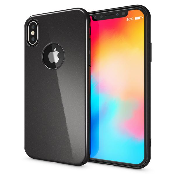 NALIA Handyhülle kompatibel mit iPhone X XS, Dünne Hülle Hardcase Schutzhülle, Ultra-Slim Cover Case Etui Handy-Tasche, Thin Smart-Phone Schutz Backcover Skin Bumper – Bild 8