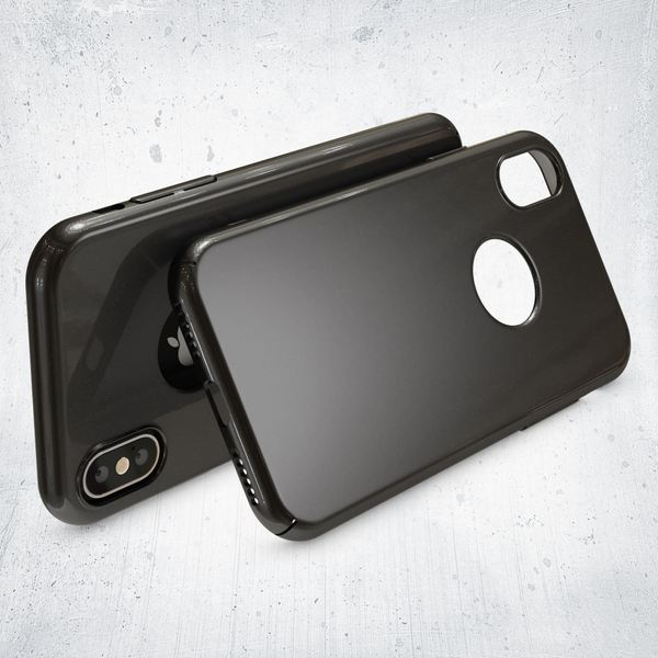 NALIA Handyhülle kompatibel mit iPhone X XS, Dünne Hülle Hardcase Schutzhülle, Ultra-Slim Cover Case Etui Handy-Tasche, Thin Smart-Phone Schutz Backcover Skin Bumper – Bild 3
