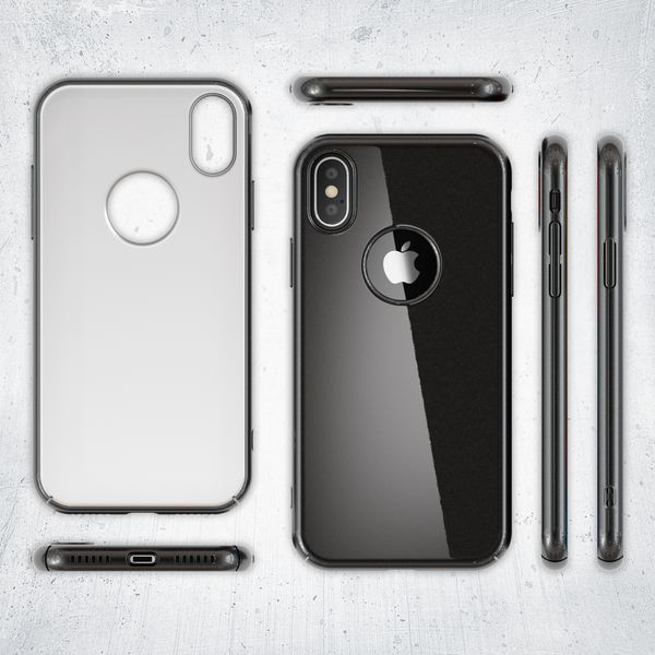 NALIA Handyhülle kompatibel mit iPhone X XS, Dünne Hülle Hardcase Schutzhülle, Ultra-Slim Cover Case Etui Handy-Tasche, Thin Smart-Phone Schutz Backcover Skin Bumper – Bild 6