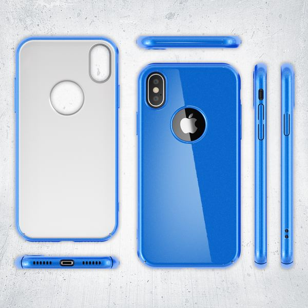 NALIA Handyhülle kompatibel mit iPhone X XS, Dünne Hülle Hardcase Schutzhülle, Ultra-Slim Cover Case Etui Handy-Tasche, Thin Smart-Phone Schutz Backcover Skin Bumper – Bild 13