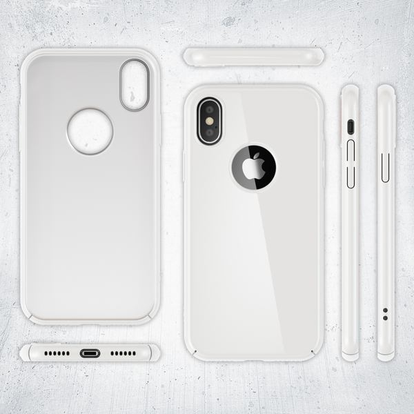 NALIA Handyhülle kompatibel mit iPhone X XS, Dünne Hülle Hardcase Schutzhülle, Ultra-Slim Cover Case Etui Handy-Tasche, Thin Smart-Phone Schutz Backcover Skin Bumper – Bild 20