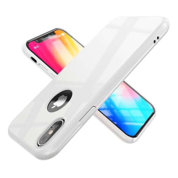 NALIA Handyhülle kompatibel mit iPhone X XS, Dünne Hülle Hardcase Schutzhülle, Ultra-Slim Cover Case Etui Handy-Tasche, Thin Smart-Phone Schutz Backcover Skin Bumper – Bild 16