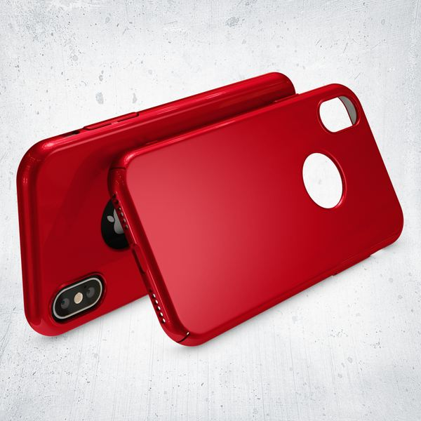NALIA Handyhülle kompatibel mit iPhone X XS, Dünne Hülle Hardcase Schutzhülle, Ultra-Slim Cover Case Etui Handy-Tasche, Thin Smart-Phone Schutz Backcover Skin Bumper – Bild 24