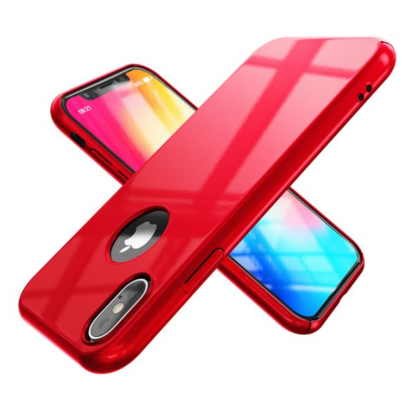 NALIA Handyhülle kompatibel mit iPhone X XS, Dünne Hülle Hardcase Schutzhülle, Ultra-Slim Cover Case Etui Handy-Tasche, Thin Smart-Phone Schutz Backcover Skin Bumper – Bild 23