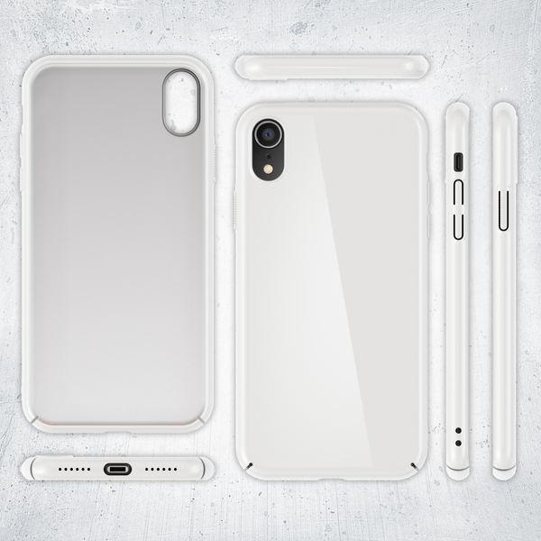 NALIA Handyhülle kompatibel mit iPhone XR, Dünne Hülle Hardcase Schutzhülle, Ultra-Slim Premium Cover Case Etui Handy-Tasche, Thin Smart-Phone Schutz Backcover Skin Bumper – Bild 22