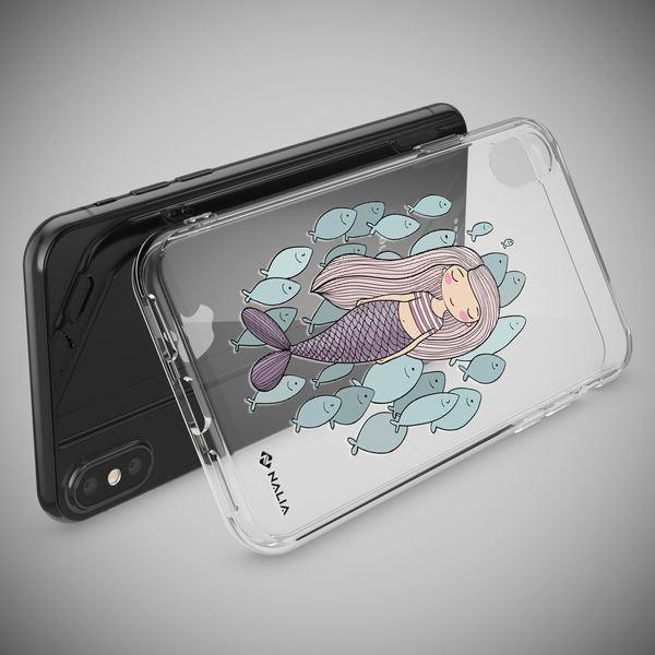NALIA Hülle kompatibel mit iPhone XS Max, Handyhülle Slim Silikon Crystal Case Cover, Schutzhülle Dünn Durchsichtig Transparent, Etui Handy-Taschen Backcover Bumper – Bild 15