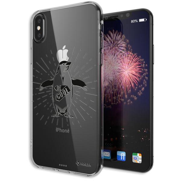 NALIA Hülle kompatibel mit iPhone XS Max, Handyhülle Slim Silikon Crystal Case Cover, Schutzhülle Dünn Durchsichtig Transparent, Etui Handy-Taschen Backcover Bumper – Bild 10