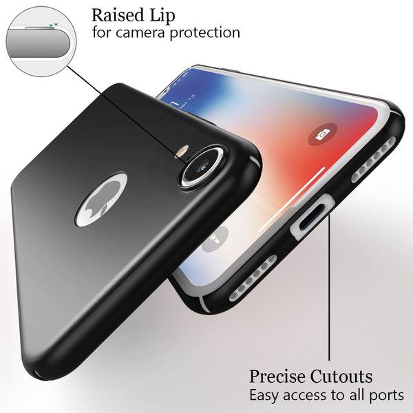NALIA Hülle kompatibel mit iPhone XR, Dünnes Hard-Case Schutzhülle Matt, Ultra-Slim Cover Etui Handyhülle Handy-Tasche, Ultra-Slim Smart-Phone Backcover Skin Bumper – Bild 3