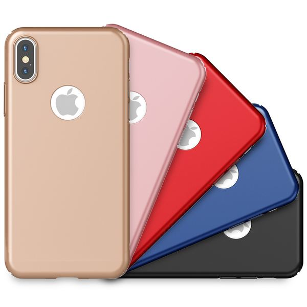NALIA Hülle kompatibel mit iPhone XS Max, Dünne Hard-Case Schutzhülle Matt, leichte Handyhülle Ultra-Slim Cover Etui Handy-Tasche, Smart-Phone Backcover Skin Bumper – Bild 1