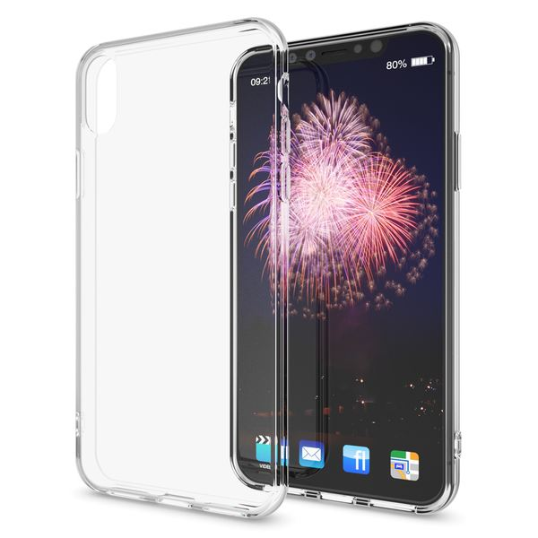 NALIA Hülle kompatibel mit iPhone XS Max, Soft Ultra-Slim Handyhülle Silikon Case Cover Crystal Clear Schutzhülle Dünn Durchsichtig, Etui Handy-Tasche Backcover Transparent Schutz Bumper – Bild 7
