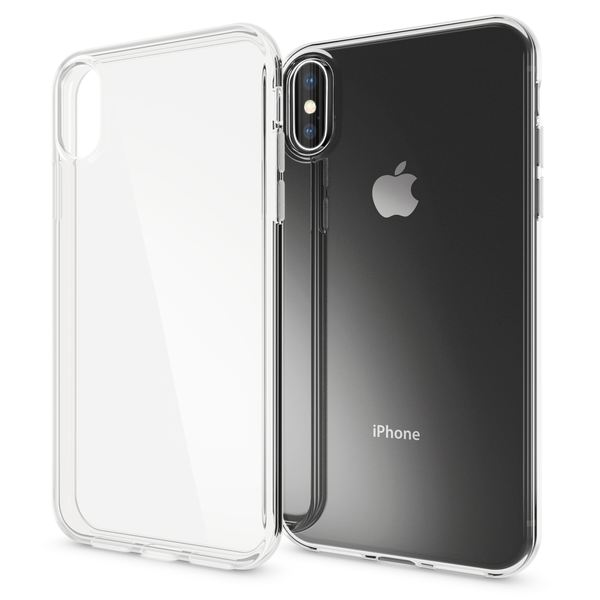 NALIA Hülle kompatibel mit iPhone XS Max, Soft Ultra-Slim Handyhülle Silikon Case Cover Crystal Clear Schutzhülle Dünn Durchsichtig, Etui Handy-Tasche Backcover Transparent Schutz Bumper – Bild 1