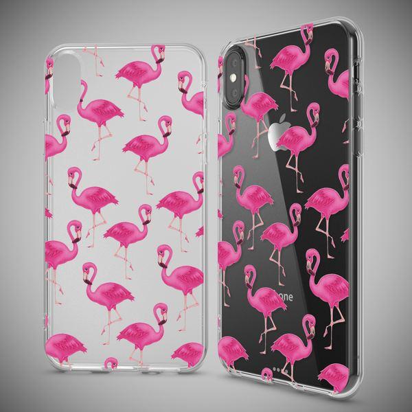 NALIA Hülle kompatibel mit iPhone XS Max, Ultra-Slim Silikon Motiv Case Cover, Schutzhülle Dünn Transparent,  Handyhülle Etui Handy-Tasche Backcover Bumper – Bild 10