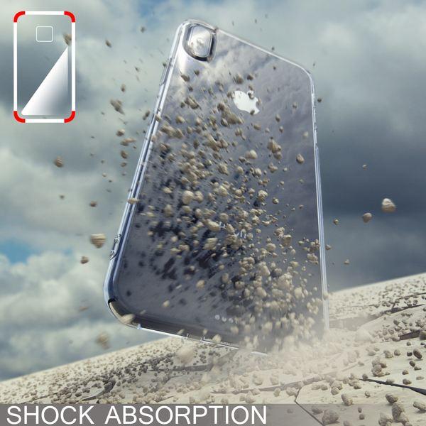 NALIA Hülle kompatibel mit iPhone XS Max, Ultra-Slim Silikon Motiv Case Cover, Schutzhülle Dünn Transparent, Etui Handyhülle Handy-Tasche Backcover Bumper – Bild 7