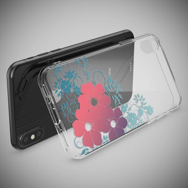 NALIA Hülle kompatibel mit iPhone XS Max, Ultra-Slim Silikon Motiv Case Cover, Schutzhülle Dünn Transparent, Etui Handyhülle Handy-Tasche Backcover Bumper – Bild 10