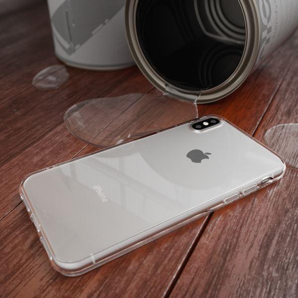 NALIA Handyhülle kompatibel mit iPhone XS Max, Ultra-Slim Silikon Hülle Case Cover Schutzhülle Dünn Durchsichtig, Etui Handy-Tasche Backcover Transparent Bumper – Bild 6