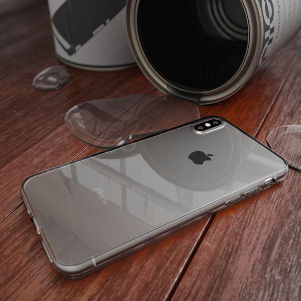 NALIA Handyhülle kompatibel mit iPhone XS Max, Ultra-Slim Silikon Hülle Case Cover Schutzhülle Dünn Durchsichtig, Etui Handy-Tasche Backcover Transparent Bumper – Bild 18