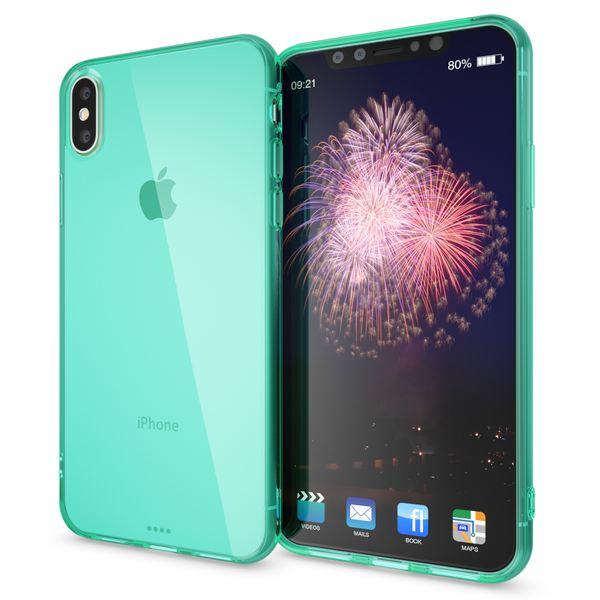 NALIA Handyhülle kompatibel mit iPhone XS Max, Ultra-Slim Silikon Hülle Case Cover Schutzhülle Dünn Durchsichtig, Etui Handy-Tasche Backcover Transparent Bumper – Bild 20
