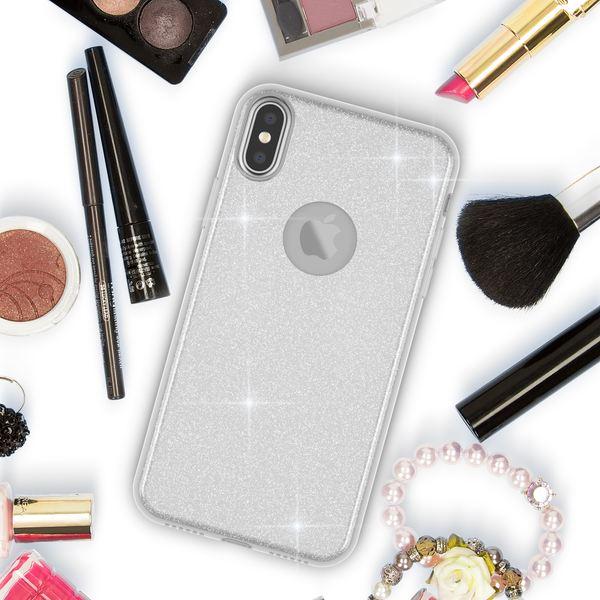 NALIA Hülle kompatibel mit iPhone XS Max, Handyhülle Glitzer Ultra-Slim Silikon-Case Back-Cover Schutzhülle, Glitter Sparkle Handy-Tasche Bumper Dünnes Bling Strass Etui Schutz – Bild 21