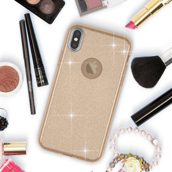 NALIA Hülle kompatibel mit iPhone XS Max, Handyhülle Glitzer Ultra-Slim Silikon-Case Back-Cover Schutzhülle, Glitter Sparkle Handy-Tasche Bumper Dünnes Bling Strass Etui Schutz – Bild 16