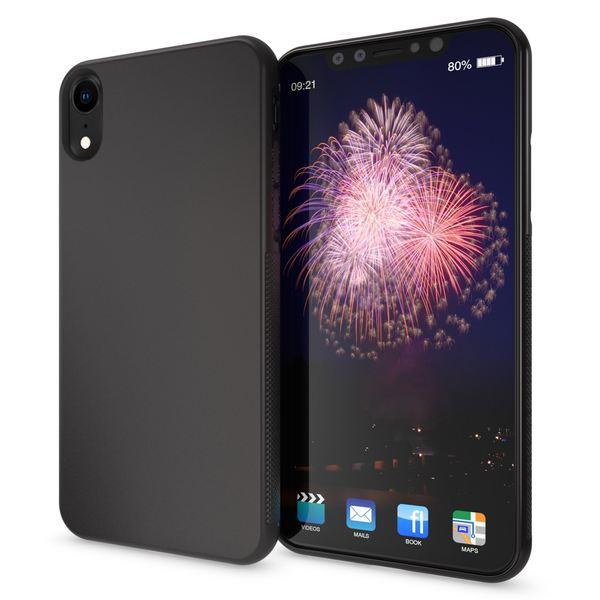 NALIA Handyhülle kompatibel mit iPhone XR, Ultra-Slim Silikon Case Cover Gummihülle, Anti-Rutsch Schutzhülle Dünn, Etui Handy-Tasche Backcover Bumper Smartphone Hülle – Bild 2