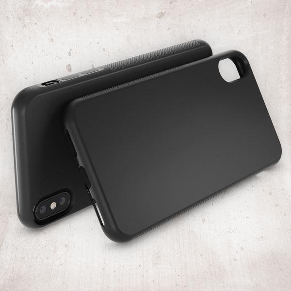 NALIA Hülle kompatibel mit iPhone XS Max, Ultra-Slim Silikon Case Cover Gummihülle, Matte Anti-Rutsch Schutzhülle Dünn, Etui Handy-Tasche Backcover Bumper Handyhülle – Bild 3