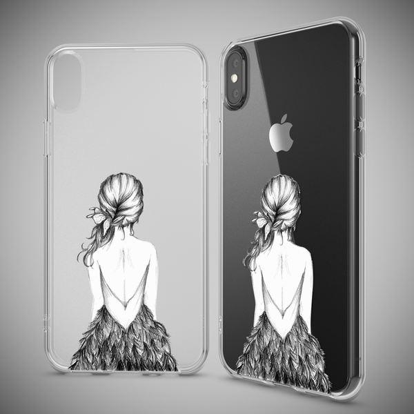 NALIA Hülle kompatibel mit iPhone XS Max, Ultra-Slim Silikon Motiv Case Cover, Schutzhülle Dünn Transparent, Etui Handyhülle Handy-Tasche Backcover Bumper Durchsichtig – Bild 10