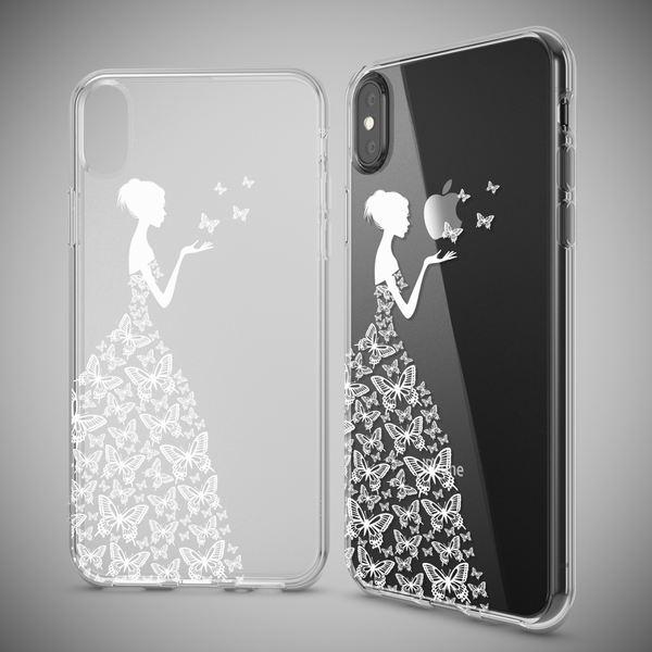 NALIA Hülle kompatibel mit iPhone XS Max, Ultra-Slim Silikon Motiv Case Cover, Schutzhülle Dünn Transparent, Etui Handyhülle Handy-Tasche Backcover Bumper Durchsichtig – Bild 13