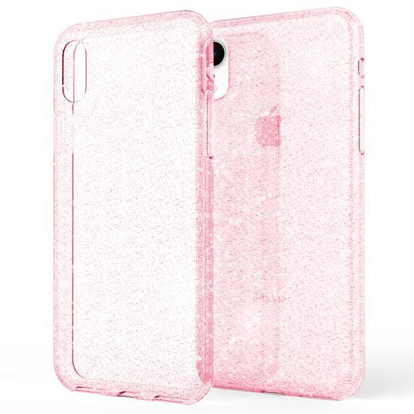 NALIA Glitter Hülle kompatibel mit iPhone XR, Glitzer Handyhülle Ultra-Slim Silikon Case Cover Schutzhülle, Bling Bling Handy-Tasche Bumper, Dünnes Strass Phone Etui Backcover – Bild 8