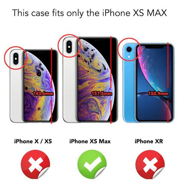 NALIA Handyhülle kompatibel mit iPhone XS Max, Glitzer Ultra-Slim Silikonhülle Case Backcover Schutzhülle, Glitter Sparkle Handy-Tasche Bumper Cover, Dünnes Bling Strass Etui Hülle – Bild 5