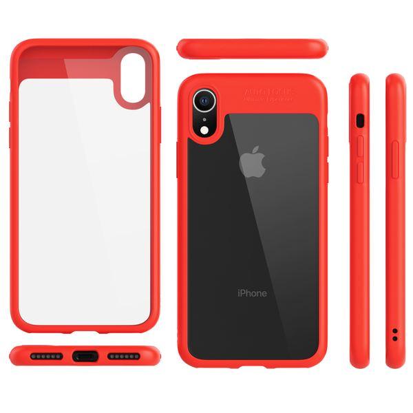 NALIA Handyhülle kompatibel mit iPhone XR, Durchsichtiges Slim Hard-Case Hülle, Transparente Rückseite & Silikon Bumper, Crystal Schutzhülle Etui Dünn, Handy-Tasche Back-Cover – Bild 8