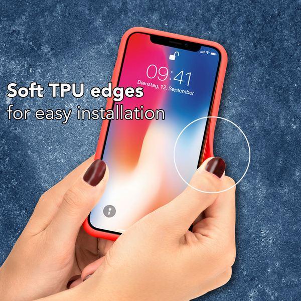 NALIA Handyhülle kompatibel mit iPhone XR, Durchsichtiges Slim Hard-Case Hülle, Transparente Rückseite & Silikon Bumper, Crystal Schutzhülle Etui Dünn, Handy-Tasche Back-Cover – Bild 5