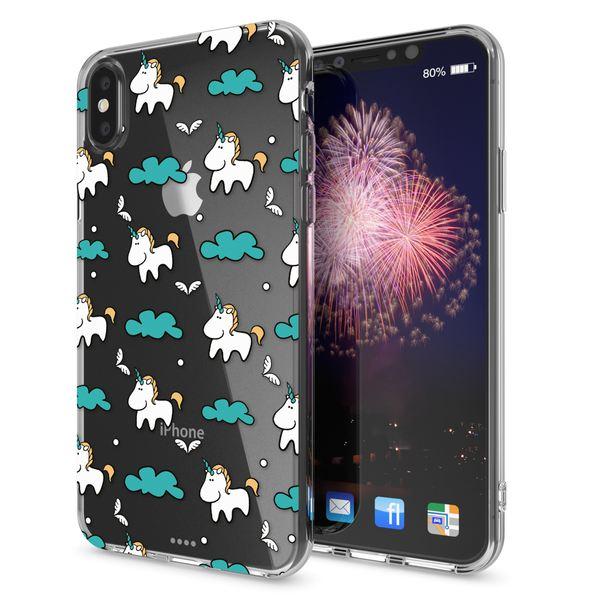 NALIA Hülle kompatibel mit iPhone XS Max, Handyhülle Ultra-Slim Silikon Case Cover, Schutzhülle Dünn Durchsichtig Transparent, Motiv Etui Handy-Tasche Backcover Bumper – Bild 16