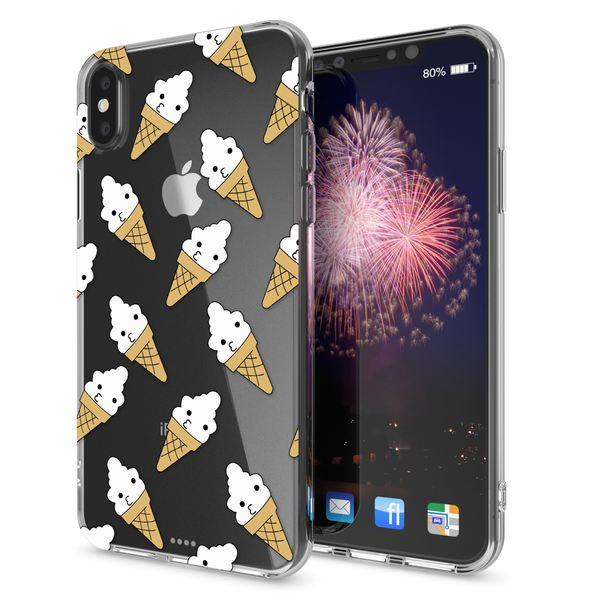 NALIA Hülle kompatibel mit iPhone XS Max, Handyhülle Ultra-Slim Silikon Case Cover, Schutzhülle Dünn Durchsichtig Transparent, Motiv Etui Handy-Tasche Backcover Bumper – Bild 22