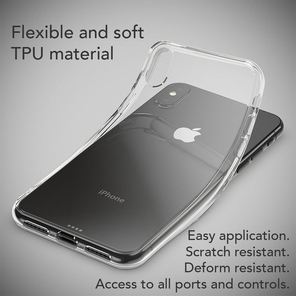 NALIA Hülle kompatibel mit iPhone XS Max, Handyhülle Ultra-Slim Silikon Case Cover, Schutzhülle Dünn Durchsichtig Transparent, Motiv Etui Handy-Tasche Backcover Bumper – Bild 24
