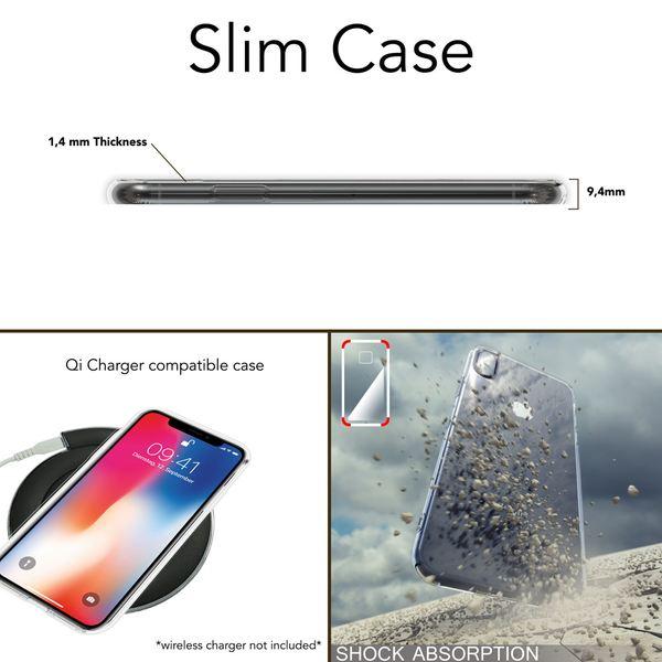 NALIA Hülle kompatibel mit iPhone XS Max, Handyhülle Ultra-Slim Silikon Case Cover, Schutzhülle Dünn Durchsichtig Transparent, Motiv Etui Handy-Tasche Backcover Bumper – Bild 7