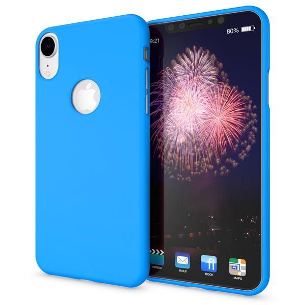 NALIA Handyhülle für Apple iPhone XR, Ultra-Slim TPU Hülle Silikon Neon Case, Dünnes Cover Gummi Schutzhülle Skin, Etui Handy-Tasche Backcover Bumper für i-Phone XR Smartphone – Bild 9