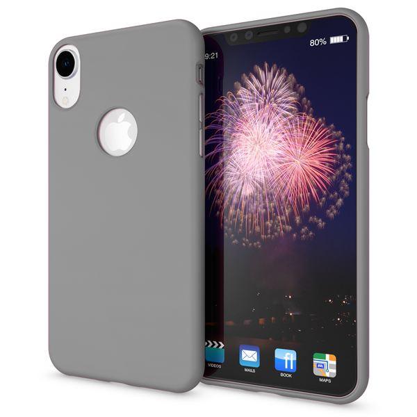 NALIA Handyhülle für Apple iPhone XR, Ultra-Slim TPU Hülle Silikon Neon Case, Dünnes Cover Gummi Schutzhülle Skin, Etui Handy-Tasche Backcover Bumper für i-Phone XR Smartphone – Bild 23