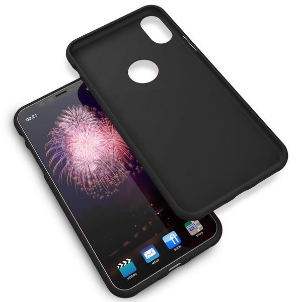 NALIA Handyhülle für Apple iPhone XR, Ultra-Slim TPU Hülle Silikon Neon Case, Dünnes Cover Gummi Schutzhülle Skin, Etui Handy-Tasche Backcover Bumper für i-Phone XR Smartphone – Bild 4